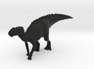Gryposaurus Dinosaur Small HOLLOW in Black Strong & Flexible
