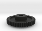 Mod 0.8 x 46T x 5w x 8 hub in Black Strong & Flexible