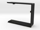 arduino enclosure main in Black Strong & Flexible