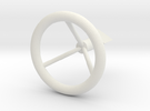 Engine Knob in White Strong & Flexible
