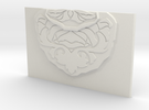 Blade Base Plate in White Strong & Flexible