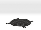 Fan Grill 92mm in Black Strong & Flexible