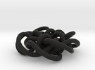 Prime Knot d4.122 30% bigger in Black Strong & Flexible