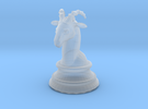 Chess piece – Ram as Bishop in Frosted Ultra Detail