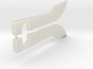 Prime Blades (pair) in Transparent Acrylic
