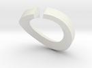 Single Diamond Bangle in White Strong & Flexible
