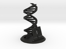 Accurate DNA Model: Biocurious Edition in Black Strong & Flexible