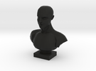Bust of a Man in Black Strong & Flexible