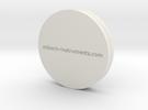 XRD Sample Holder for Glass Petrographic Slides in White Strong & Flexible