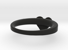 LV RING 18,5mm in Black Strong & Flexible
