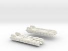 Fleet Scale Series 1: Terran Light Cruiser in White Strong & Flexible