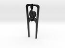 Music Divot Tool in Matte Black Steel