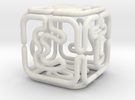 Extruded Pipe Die D6 in White Strong & Flexible