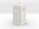 Metropolitan Police Box mk3 in White Strong & Flexible