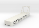 Qav500 Crash Cover in White Strong & Flexible
