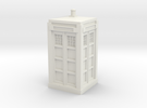 Police Box model kit in White Strong & Flexible