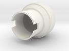 Saber-RK1 Pommel in White Strong & Flexible