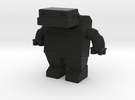 Robot 0030 Jaw Bot Diesel v1 in Black Strong & Flexible