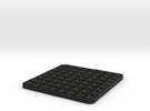 mini chess table in Black Strong & Flexible