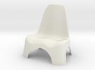 Garden Chair 1/10 in White Strong & Flexible