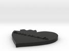 Tiny Heart Gear in Black Strong & Flexible