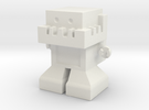 """Robot 0050 Jaw Bot """"Monitor"""" TV Belly in White Strong & Flexible"""
