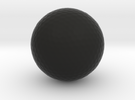 Golf Ball in Black Strong & Flexible