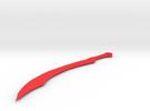 Mirai Kuriyama's Blood Sword in Red Strong & Flexible Polished