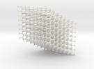 Standard Diamond Lattice in White Strong & Flexible
