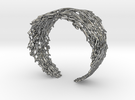 Fractal Snowflake Bracelet  in Premium Silver