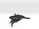 Tribal Pendant No.2 in Black Strong & Flexible