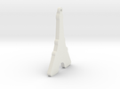Eiffel Tower in White Strong & Flexible