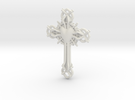 Baroque Cross in White Strong & Flexible