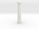 Parthenon Column (Hollow) 1:100 in White Strong & Flexible
