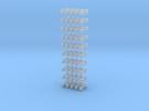 Kurzkupplung starr 4-fach Anschluß 1/220 in Frosted Ultra Detail