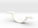 Front Mudguard Mounting - Outside in White Strong & Flexible Polished