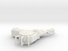 ray gun keychain in White Strong & Flexible