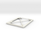 """8"""" x 10"""" Picture Frame in White Strong & Flexible"""