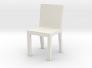 1:48 chair2 in White Strong & Flexible