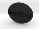 S46 Ellipse Enh. DARLING @ 40 x 30 mm. in Black Strong & Flexible