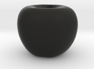 Parametric Surface Apple in Black Strong & Flexible