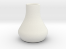 Mini vase in White Strong & Flexible