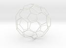 Fussball in White Strong & Flexible