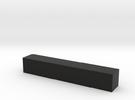 Block 2x2x12 in Black Strong & Flexible