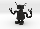 Robot that Loves in Black Strong & Flexible