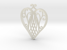 Heart Ornament in Stainless Steel