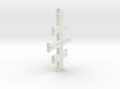 Gea's Cross in White Strong & Flexible