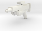 Minifig Gun 04 in White Strong & Flexible