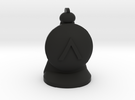 Hoplite for Spartan Chess™  in Black Strong & Flexible