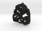 Viking Triskle in Black Strong & Flexible